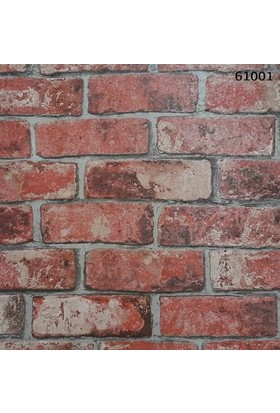 Halley Natural Design 61001 Tuğla Görünümlü Duvar Kağıdı