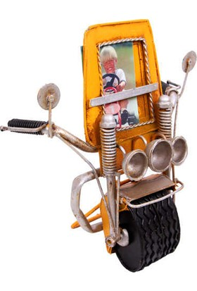 Mory Concept Dekoratif Metal Çerçeve Motosiklet Temalı