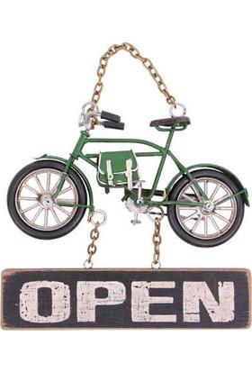 Mory Concept Dekoratif Metal Kapı Yazısı Bisiklet