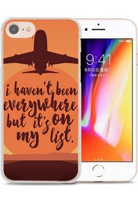 Giden Yolcu Seyahat Temalı Apple iPhone 6/6S Telefon Kılıfı