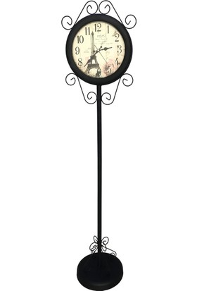 Bk Concept Eyfel Ayaklı Siyah Saat