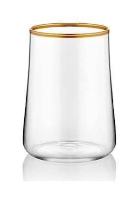 Koleksiyon Aheste 6'lı Kahve Yanı Bardağı Mat Altın