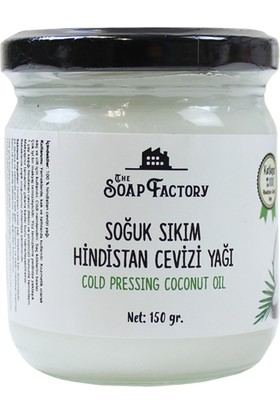 The Soap Factory Hindistan Cevizi Yağı 150 gr