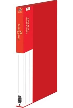 Faber-Castell Standart Sunum Dosyası 40 Yaprak Siyah