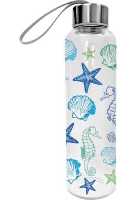 PaperProducts Design GMBH Aquarell Seaside Taşınabilir Cam Şişe
