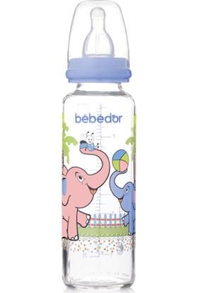 Bebedor Desenli Cam Biberon 250 ml (B-31302)
