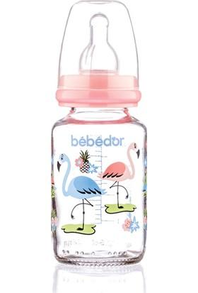 Bebedor Desenli Cam Biberon 125 ml (B-30302)
