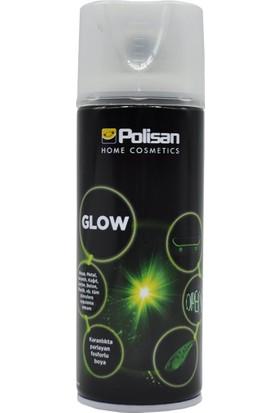 Polisan Sprey Glow 400 Ml. (Karanlıkta Parlayan Fosforlu Sprey)