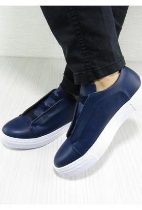 836fe9a0719df Conteyner İpek Lacivert Casual Bağcıklı Erkek Ayakkabı ...