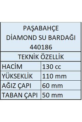 Paşabahçe 12'li Diamond Kahve Yanı Su Bardağı 440186