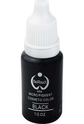 Biotouch Kalıcı Makyaj Boyası 15 Ml Siyah