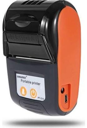 Goojprt Bluetooth Termal Yazıcı Taşınabilir Kablosuz 58Mm