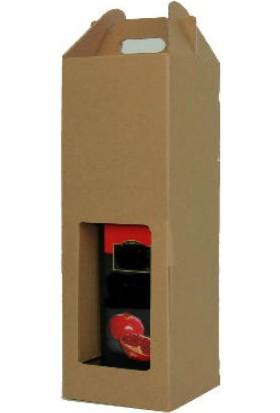 Unipak Tekli Şişe Kutusu 10,3×10,3×35,5 (25 Adet)