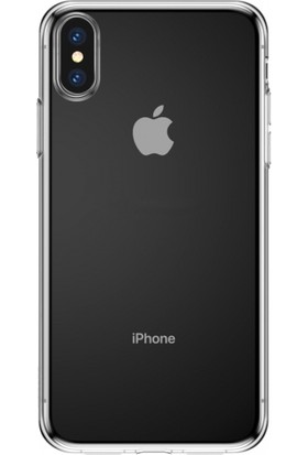 Baseus Apple iPhone XS Max 6.5 Simple Şeffaf Gel Darbe Emici Silikon Kılıf ARAPIPH65-B02
