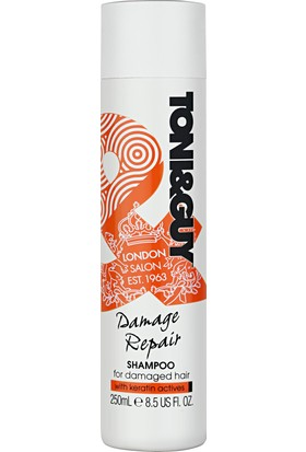 Toni&Guy Şampuan Yıpranmış Saçlar İçin 250 ml