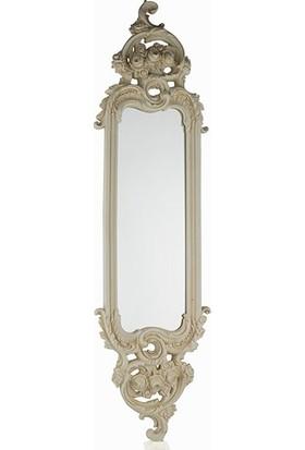 Porio Pr30-1109-Krem Rengi Uzun İnce Ayna 115*32
