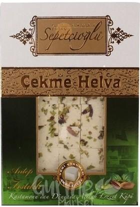 Sepetçioğlu Fıstıklı Çekme Helva 280 gr 3' lü