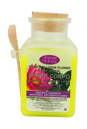 4 Your Body Bambu ve Lotus Çiçeği Özlü Vücut Peelingi 400 ml