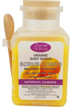 4 Your Body Portakallı Rahatlatıcı Vücut Peelingi 400 ml