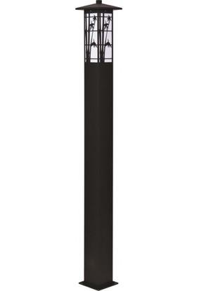 Avonni Bdr-68243-Bsy Siyah Elektrostatik Toz Boyalı Bahçe Aydınlatma Direği