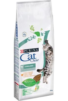 Purina Cat Chow Sterilised Tavuklu Kısırlaştırılmış Kedi Maması 15 kg