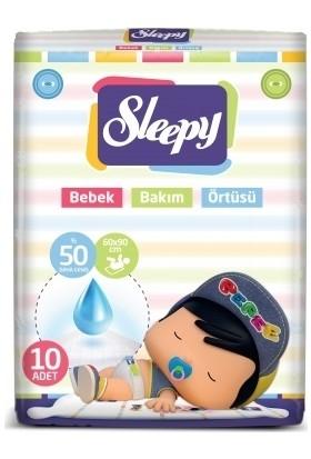 Sleepy Bebek Bakım Örtüsü 10'lu 60x90 cm 1 Paket
