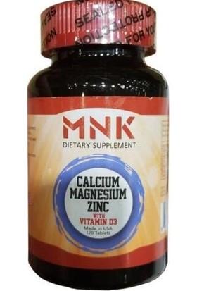 MNK Calcium Magnesium Zinc With D 120 TABLET