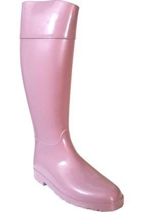 Shop And Shoes 175-503 Kadın Yağmur Çizmesi Somon