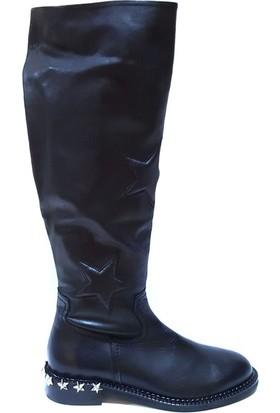 Shop And Shoes 104-9517-29 Kadın Çizme Siyah