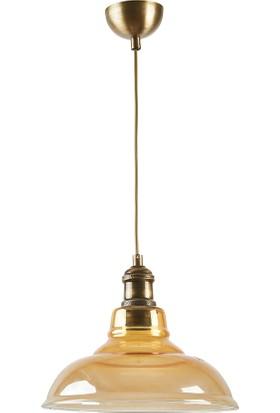 Light Home Dekoratif Bal Cam Sarkıt Avize