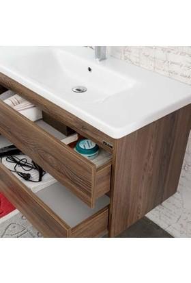 Lineart Soft 800 80Cm Boy Dolaplı Takım Banyo Dolabı