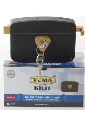 Yuma Yuma 14cm Oval Trajli Kilit Ym-600