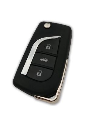 Anahtar Vadisi Toyota 3 Butonlu Yeni Nesil Kumanda Kabı