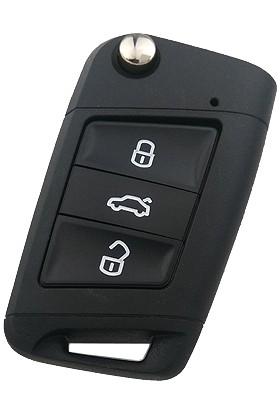 Anahtar Vadisi Volkswagen Golf 7 Kumanda Kabı