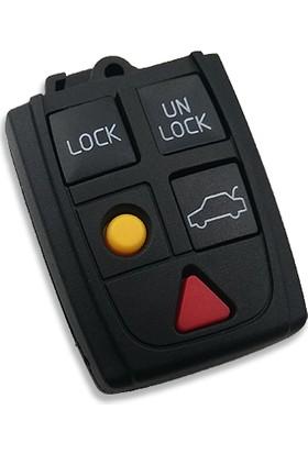 Anahtar Vadisi Volvo 5 Butonlu Kumanda Kabı