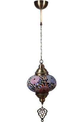 Hiper Osmanli Küçük Mozaik Camli Tekli A