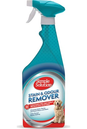 Simple Solution Köpekler için Leke ve Koku Giderici Spray