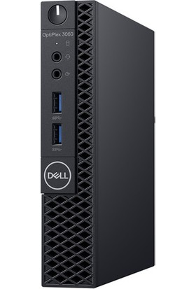 Dell OptiPlex 3060MFF Intel Core i3 8100T 4GB 500GB Freedos Masaüstü Bilgisayar N002O3060MFF_UBU_RAIL