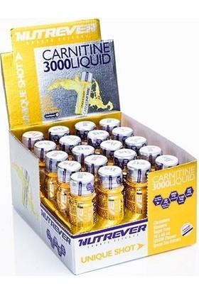 Nutrever Carnitine 3000 Liquid 20 Adet