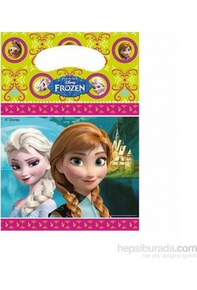 Frozen Parti Çantası (6 Ad)