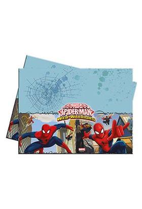 Spiderman Savaşçı Plastik Masa Örtüsü 120x180cm