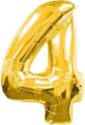 Parti Şöleni 4 Folyo Balon Gold 1 Adet