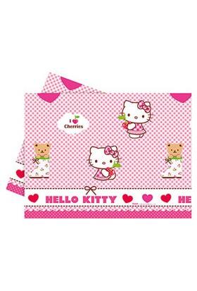 Hello Kitty Kalpler Plastik Masa Örtüsü 120x180cm