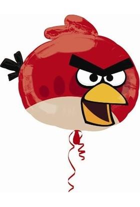 Parti Şöleni Angry Birds Supershape Folyo Balon 1 Adet 58Cm