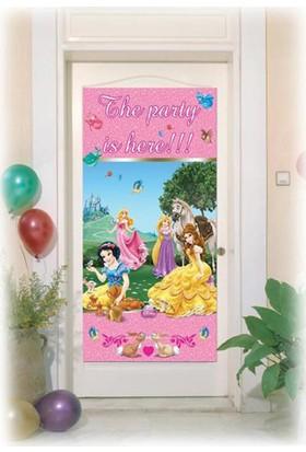 Tahtakale Toptancısı Kapı Banner Princess & Animals Temalı Kapı Afişi