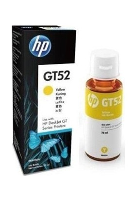 Hp M0H56A Gt52 Yellow Ink Bottle