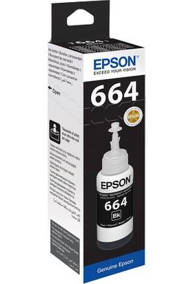 Epson T6641 L100- L200- L300 Black Mürekkep 70Ml