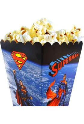 Parti Şöleni Superman Popcorn Kutusu