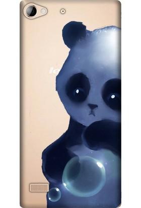 Cupcase Lenovo Vibe X2 Esnek Desenli Silikon Telefon Kapak Kılıf - Cartoon Panda