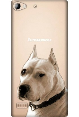 Cupcase Lenovo Vibe X2 Esnek Desenli Silikon Telefon Kapak Kılıf - Dogo Argentino